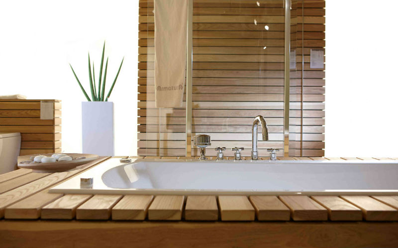 Aranżacja łazienki inspiracja przyrodą