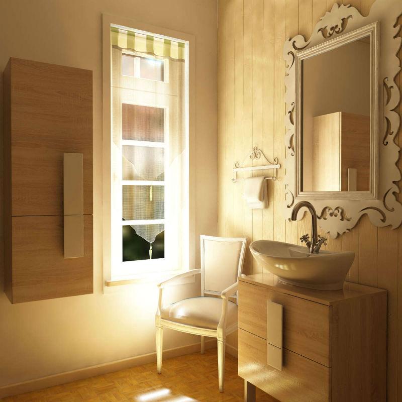 Aranżacja łazienki styl retro