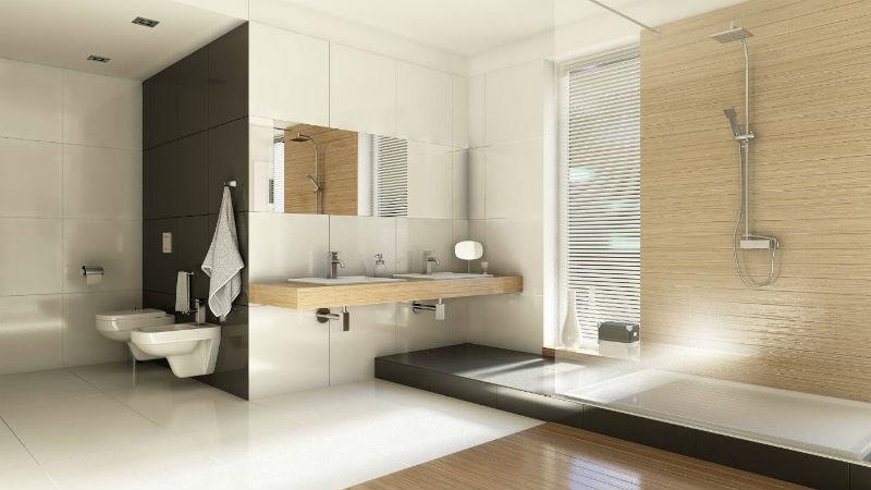 Aranżacja łazienki styl skandynawski