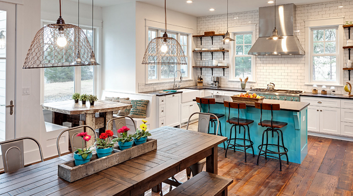 Jak modnie urządzić kuchnię? fot.: Ed Saloga Design Build